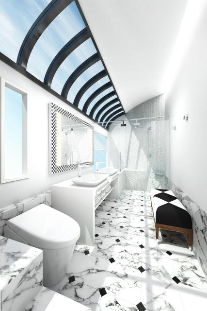 お風呂付客室もある超豪華寝台列車