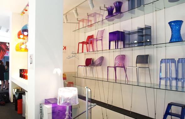 イタリアのプラスチック家具のブランド・カルテル